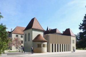 Sautel | Château Sud Restructuration lycée agricole Roanne CHERVÉ (42) - image 1